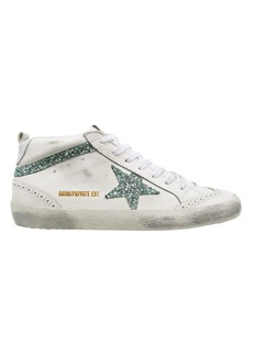 Golden Goose Mid Star Glitter Sneakers