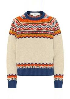 Golden Goose Momo Fair Isle merino wool sweater