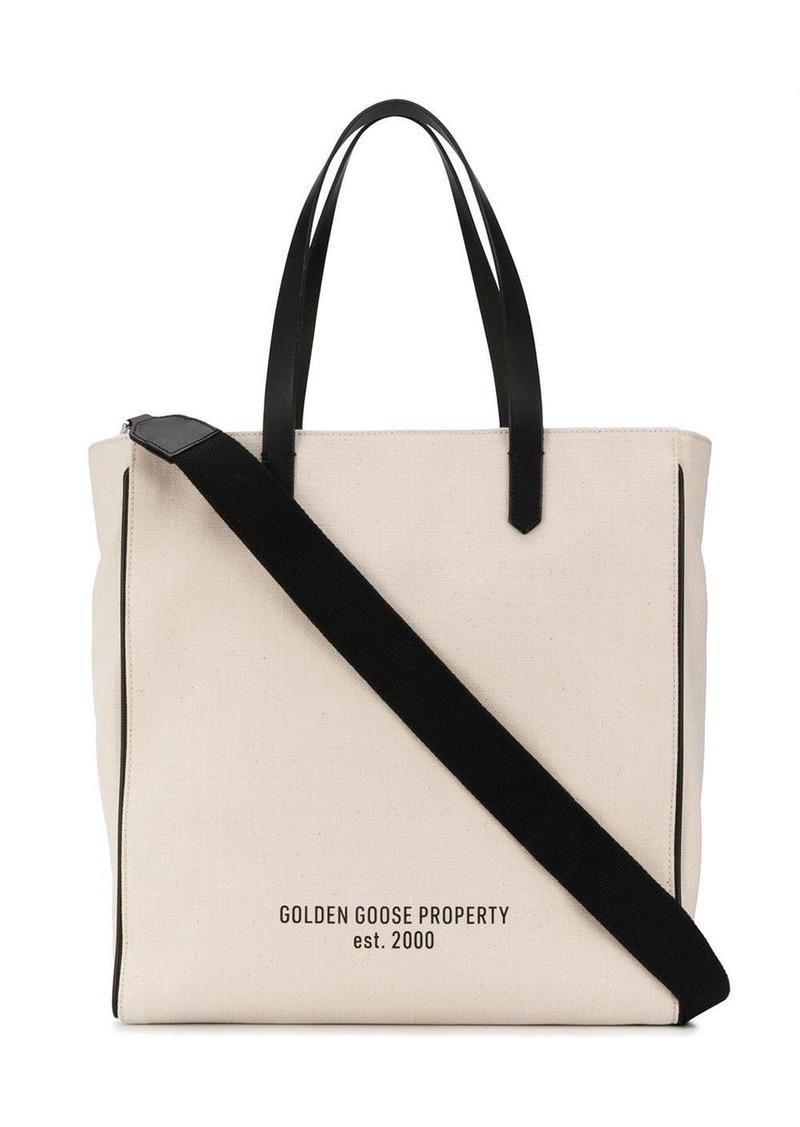 Golden Goose monochrome tote bag