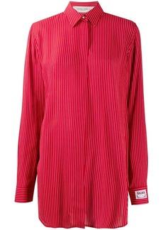 Golden Goose oversized stripe print shirt