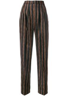 Golden Goose paisley caramel trousers