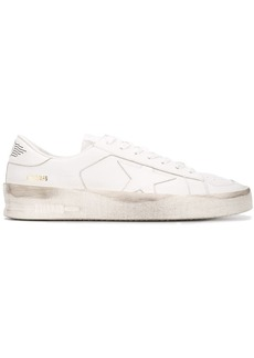 Golden Goose panel lace-up sneakers
