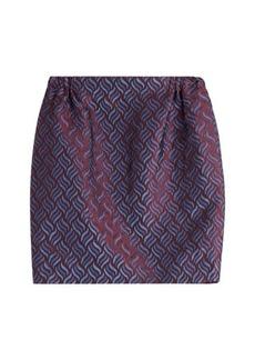 Golden Goose Printed Knit Mini-Skirt