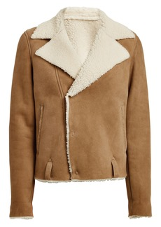 Golden Goose Savannah Cropped Shearling Jacket
