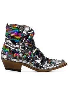 Golden Goose sequin embellished boots