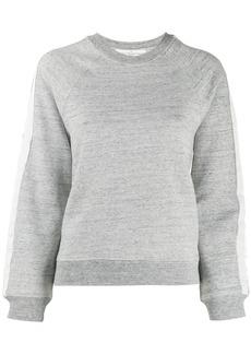 Golden Goose side stripe sweatshirt
