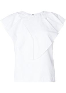 Golden Goose sleeveless ruffle top