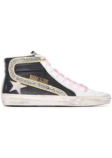 Golden Goose Slide glitter high-top sneakers