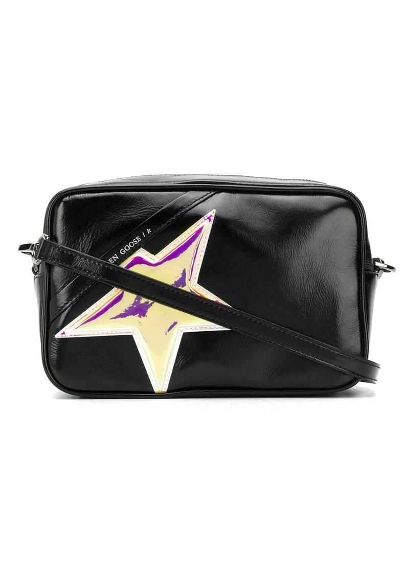 Golden Goose star-embellished crossbody bag