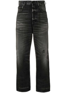 Golden Goose stonewashed cropped jeans