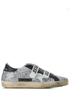 Golden Goose strapped superstar sneakers