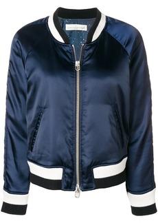 Golden Goose stripe detail bomber jacket