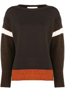 Golden Goose stripe insert sweater