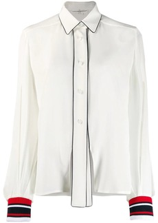 Golden Goose striped cuff shirt
