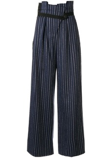 Golden Goose striped wide-leg trousers