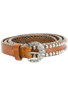 Golden Goose studded buckled belt