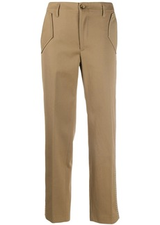 Golden Goose studded high waisted trousers