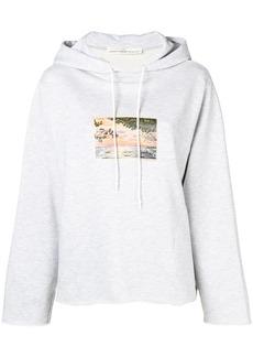 Golden Goose sunset print hoodie