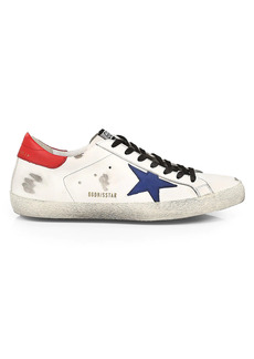 Golden Goose Super-Star Leather Sneakers