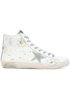 Golden Goose superstar daisy hi-top sneakers