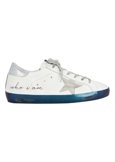 Golden Goose Superstar Navy Bottom Low-Top Sneakers