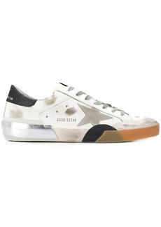 Golden Goose Superstar worn-effect sneakers
