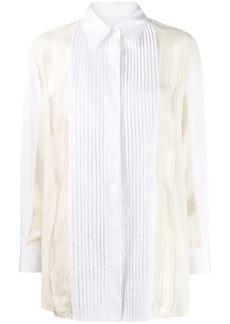 Golden Goose Susan pleated button-up shirt