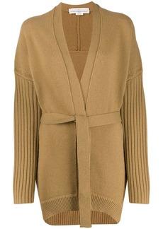 Golden Goose textured-knit belted cardigan