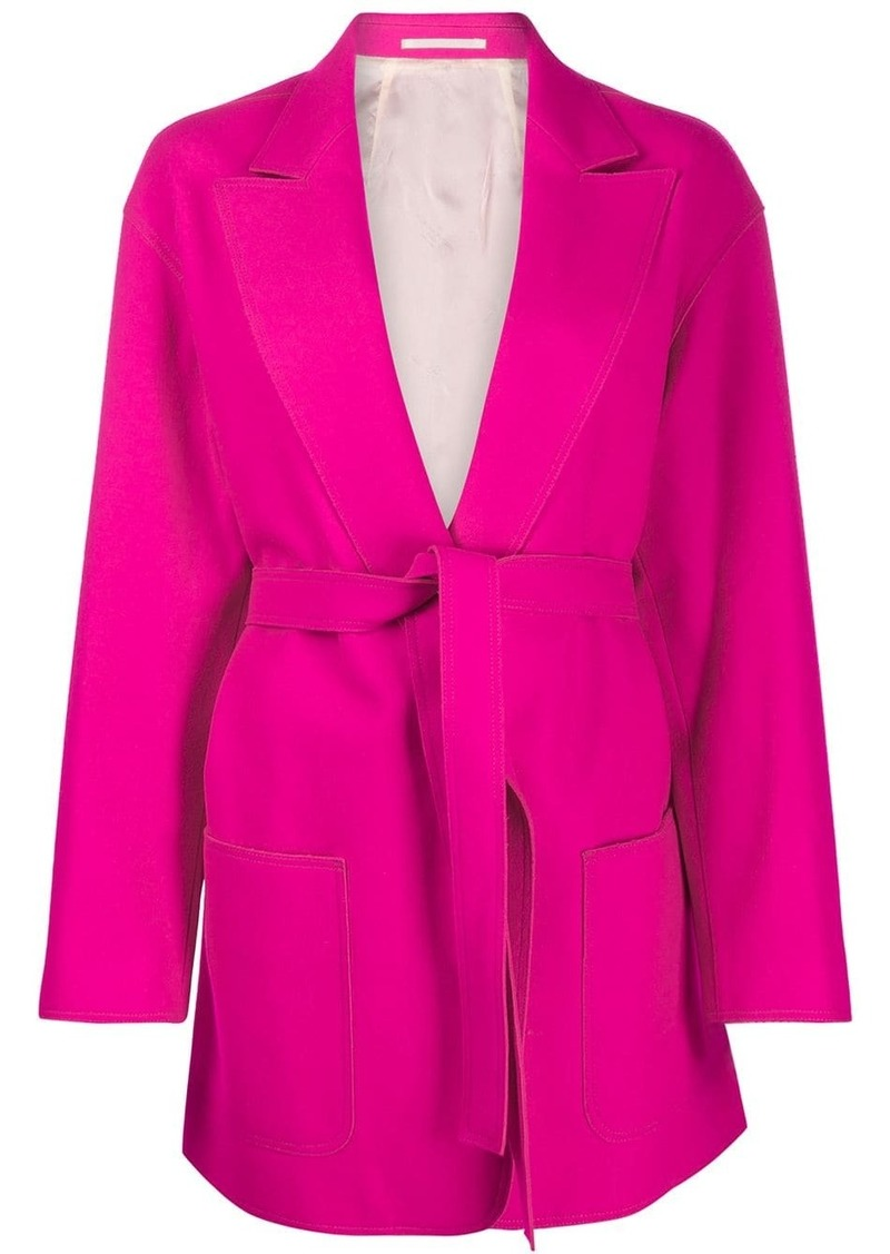 Golden Goose tie waist fitted jacket