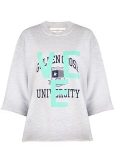 Golden Goose university print sweatshirt