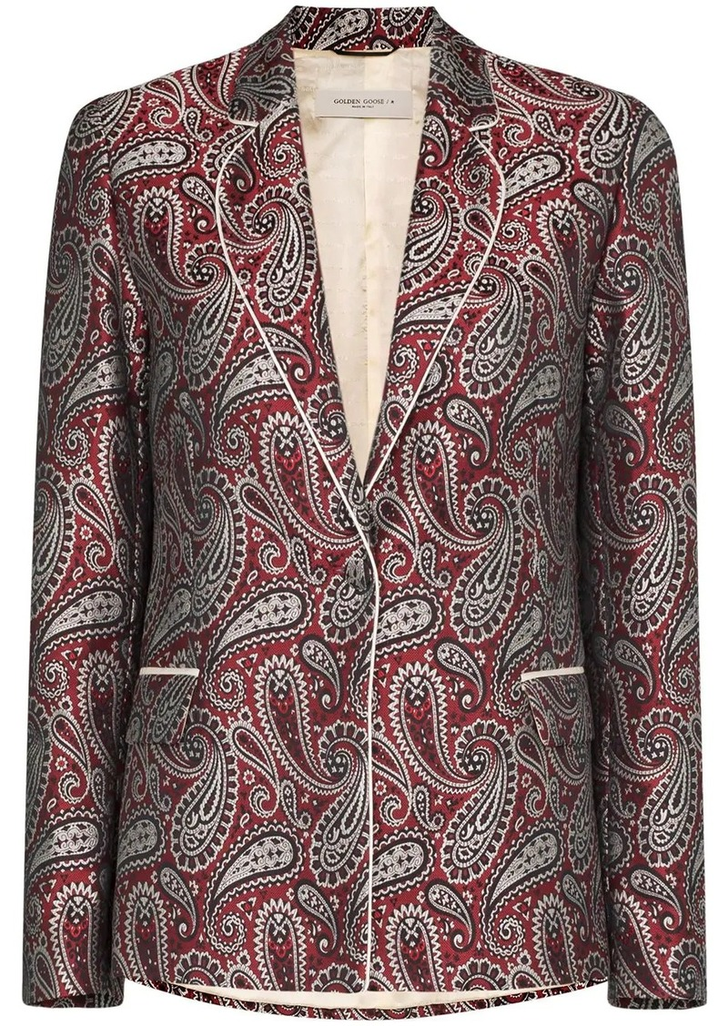 Golden Goose Venice paisley-print blazer