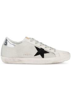 Golden Goose White Black Superstar Mesh sneakers