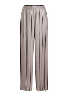 Golden Goose Wide Leg Pleated Pants