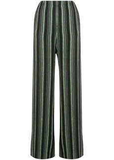 Golden Goose wide leg striped trousers