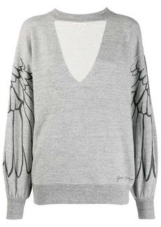 Golden Goose wings sweatshirt