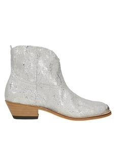 Golden Goose Young Sparkles Sequined Western Boots