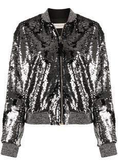 Golden Goose zip-up sequinned jacket