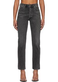 Goldsign Black 'The Benefit' Jeans