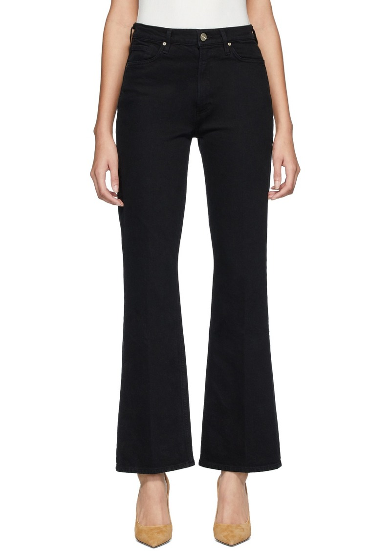 Goldsign Black 'The Comfort High-Rise' Jeans