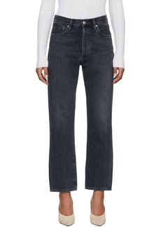 Goldsign Black 'The Relaxed Straight' Jeans