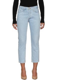 Goldsign Blue 'The Low Slung' Jeans