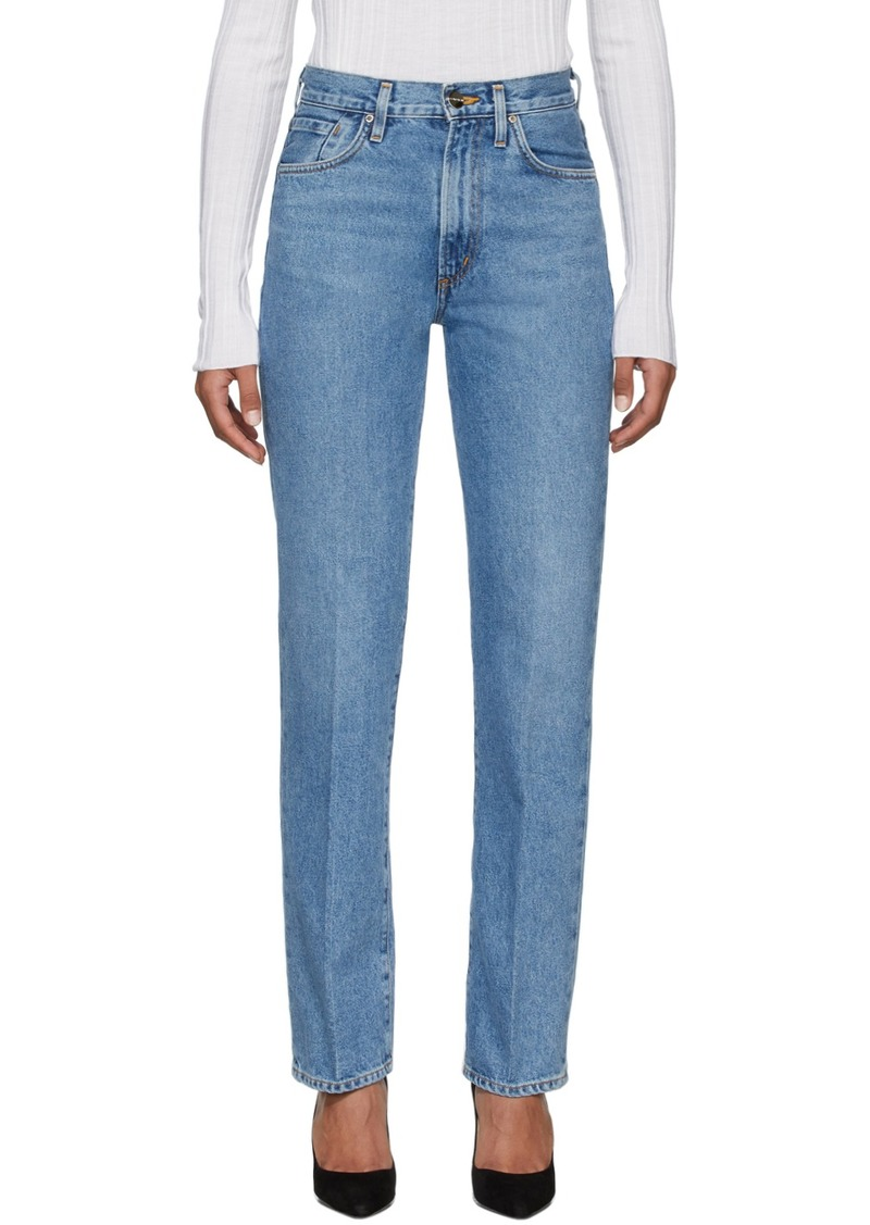 Goldsign Blue 'The Nineties Classic Fit' Jeans
