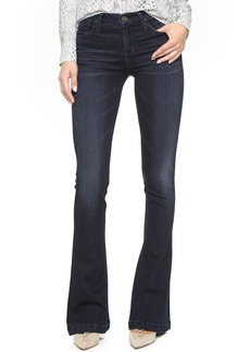 GOLDSIGN Stella Mid Rise Flare Jeans