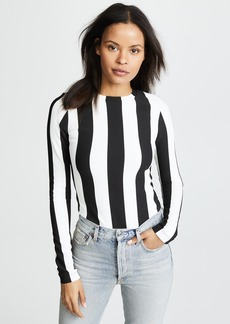 GOLDSIGN The Wide Stripe Bodysuit