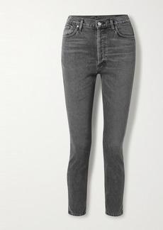 Goldsign Net Sustain High-rise Slim-leg Jeans