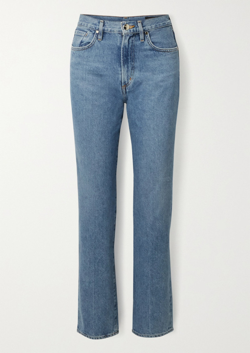 Goldsign Net Sustain Nineties Classic High-rise Straight-leg Jeans