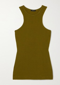 Goldsign Net Sustain Ribbed-knit Tank