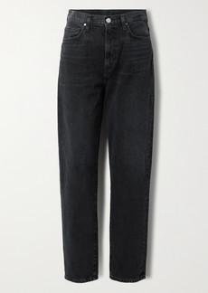 Goldsign Net Sustain The Peg High-rise Straight-leg Jeans