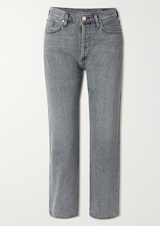 Goldsign Net Sustain The Relaxed Straight Mid-rise Straight-leg Jeans