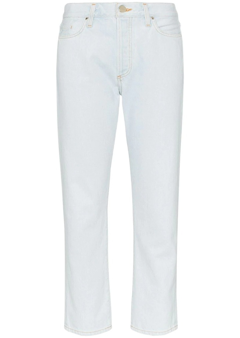 Goldsign pale blue the low slung with clean set of pockets jeans